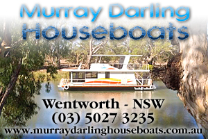 Murray Darling Houseboats logo