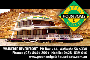 Green & Gold Houseboats logo