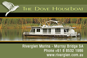 The Dove Houseboat logo