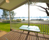 Riverfront views from your patio