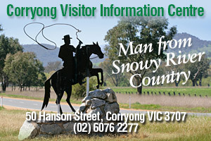 Corryong Visitor Information Centre logo