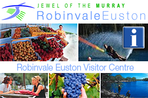 Robinvale Euston Visitor Information Centre logo