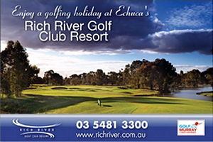 Rich River Golf Club Resort logo