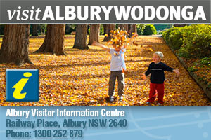 Albury Visitor Information Centre logo