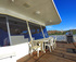 Southern Sun Houseboat front deck