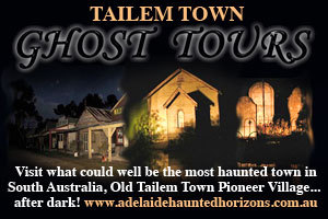 Tailem Town Ghost Tours - Adelaide's Haunted Horizons logo