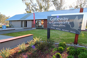 Gateway to Gannawarra Visitor Centre, Cohuna logo