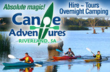 3rd person on tour or 3rd kayak hire free - Canoe Adventures