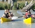 Hire a kayak on the Murray for a fun day out with friends. (image courtesy of the Murray Pioneer)