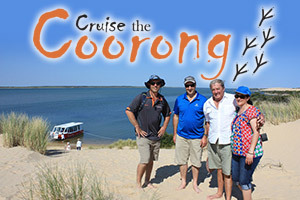 Cruise the Coorong