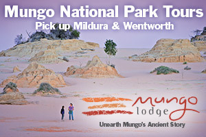 Mungo National Park Tours - Mungo Lodge