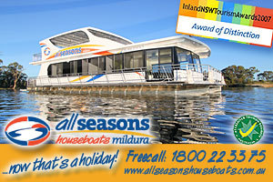 All Seasons Houseboats logo