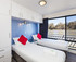 Hypnotic bedrooms can be split to single beds
