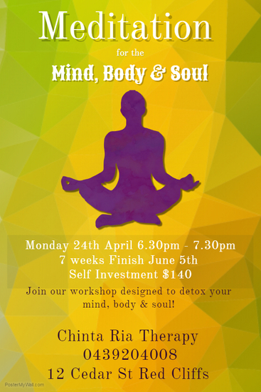 meditation for mind  body and soul