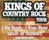 THE KINGS OF COUNRTY ROCK TOUR logo