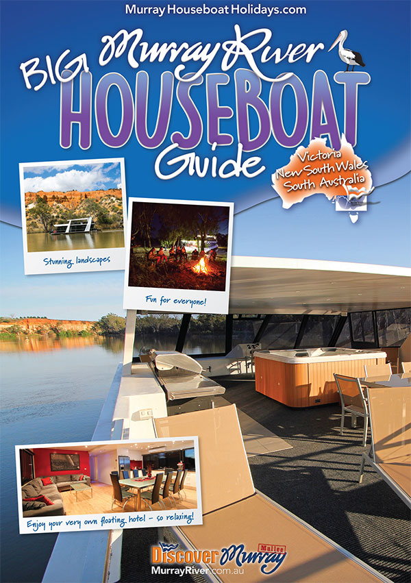 Big Murray River Houseboat Guide - New South Wales, Victoria and South Australia