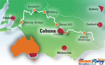 Cohuna Map