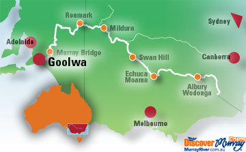 Map of Goolwa