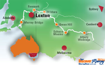 Loxton Map