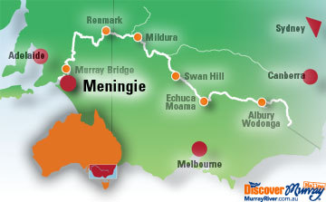 Map of Meningie