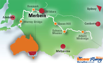 Merbein Map