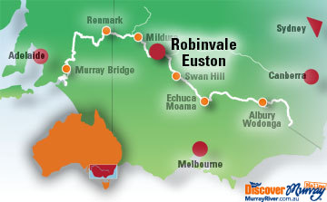Robinvale Map
