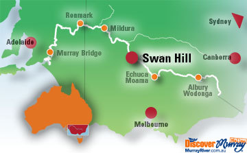Swan Hill Map
