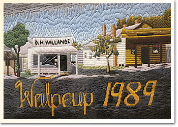 Walpeup Mural 1989