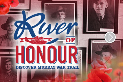 Follow the Discover Murray River War Trail